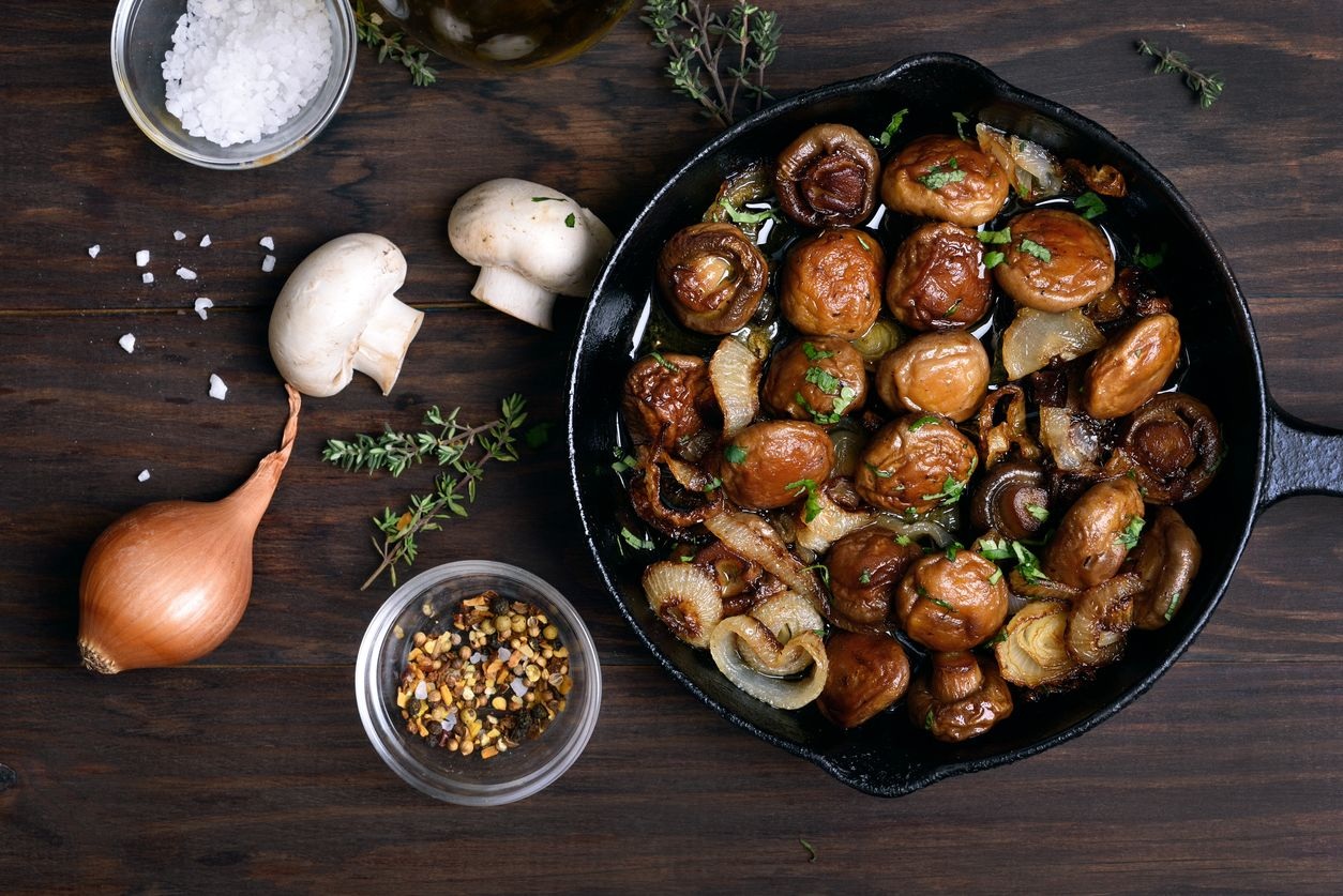 Edible mushrooms and 2 other easy cannabis infused side dish recipes