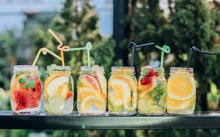 Stoned fruits drinks  A popular Californian summer trend