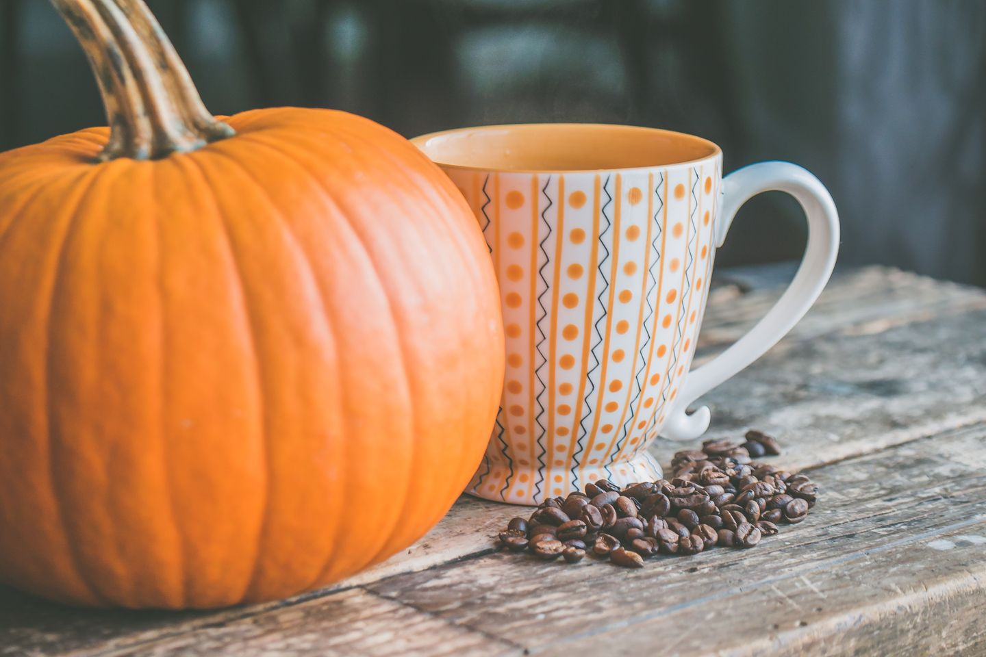 Cannabis infused pumpkin spice latte