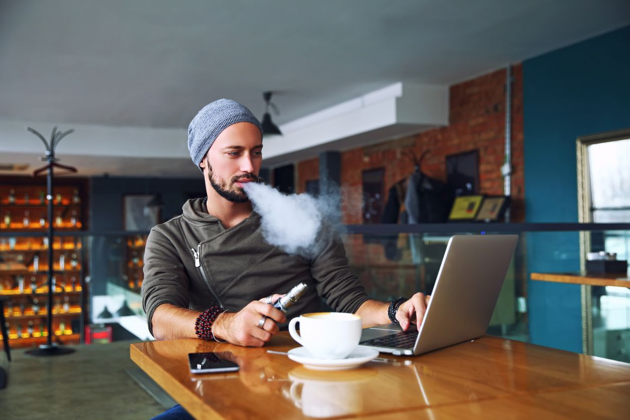 Should you vape THC and drink caffeine