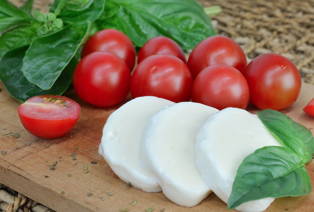 Cannabis infused mozzarella cheese