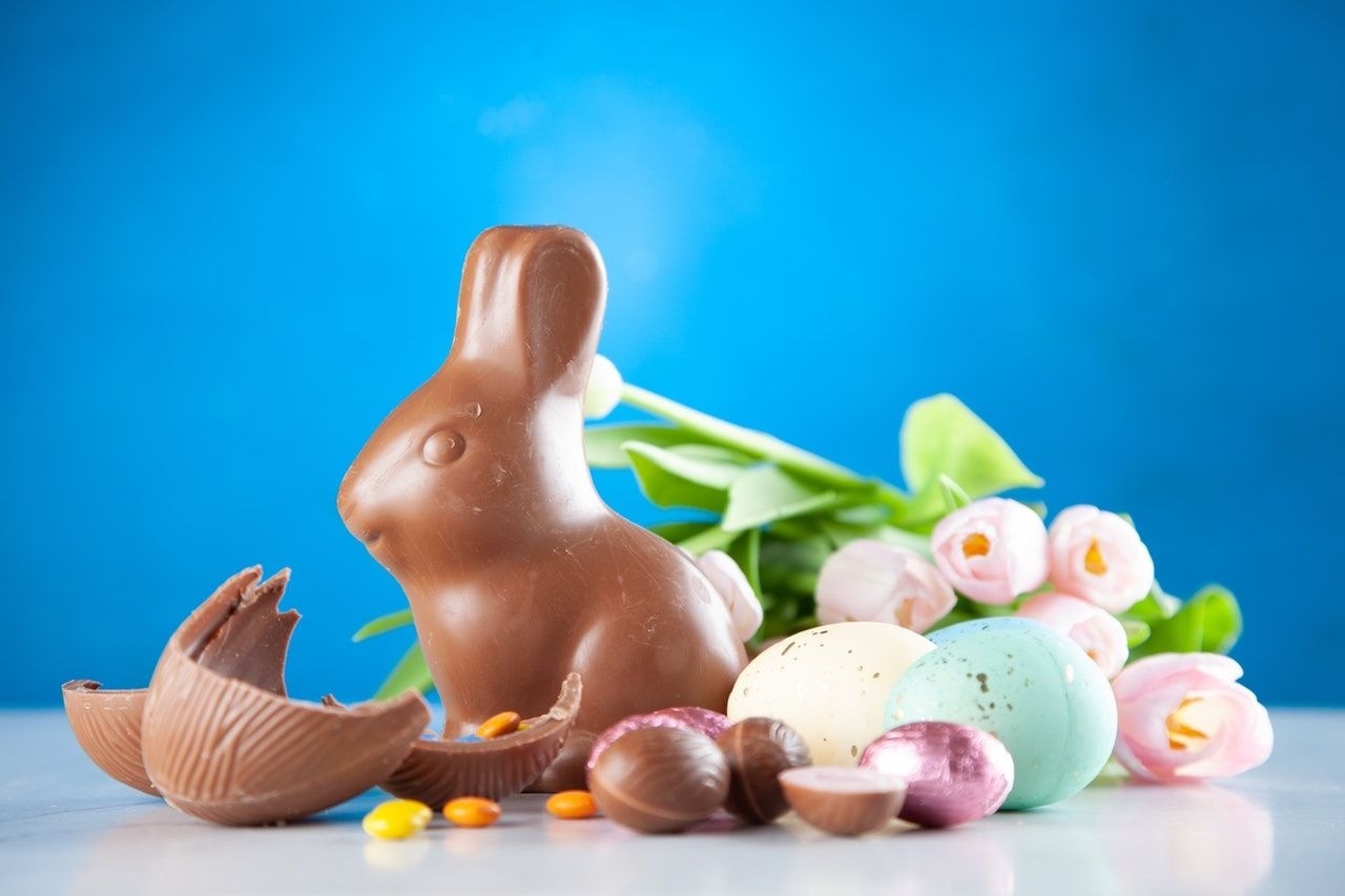 How to make a chocolate Easter bunny bong