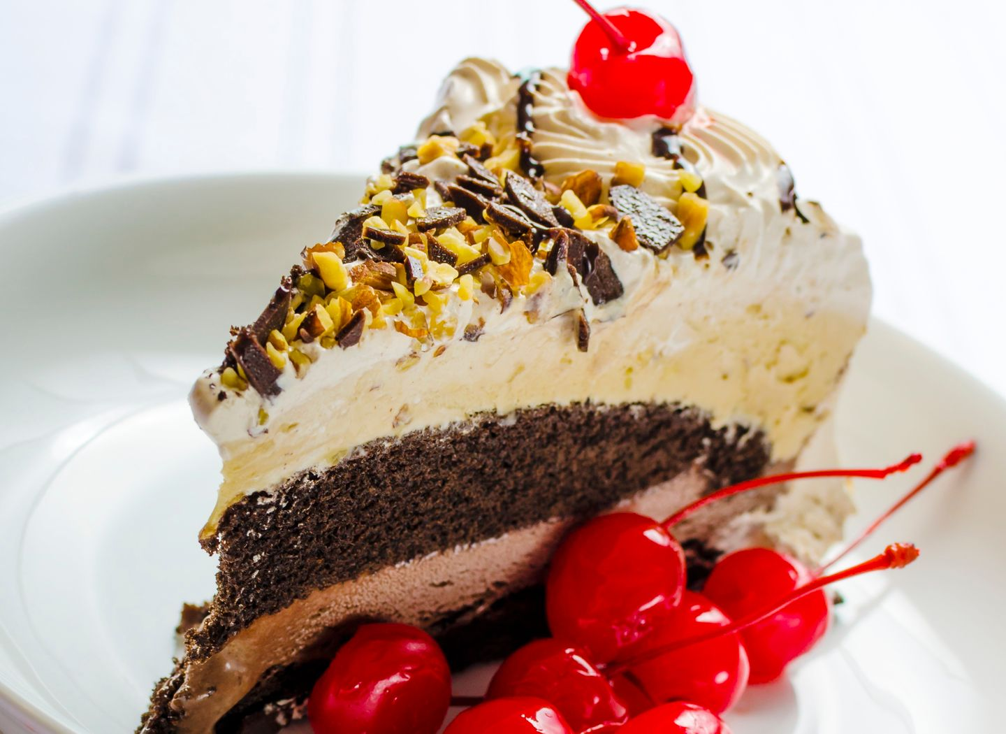 High protein CBD ice cream cake dessert recipe