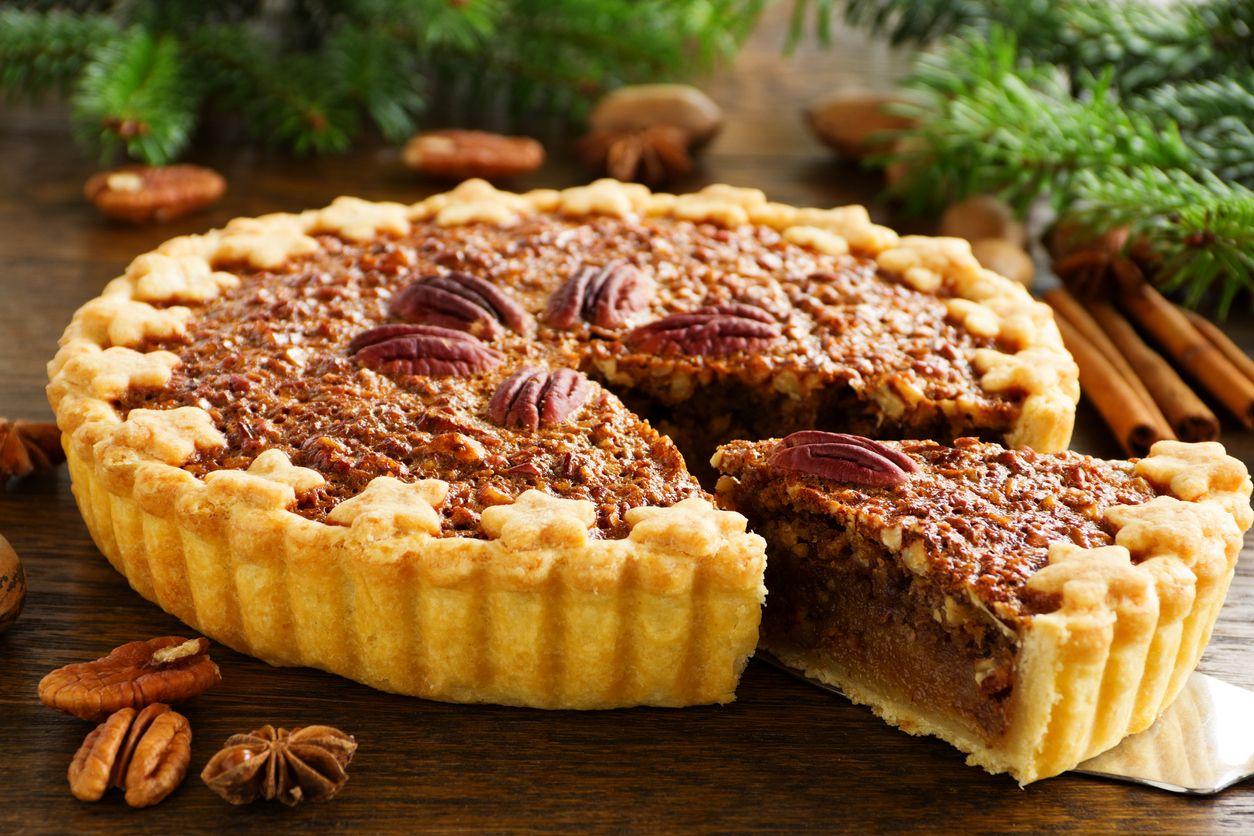 A cannabisinfused pecan pie recipe