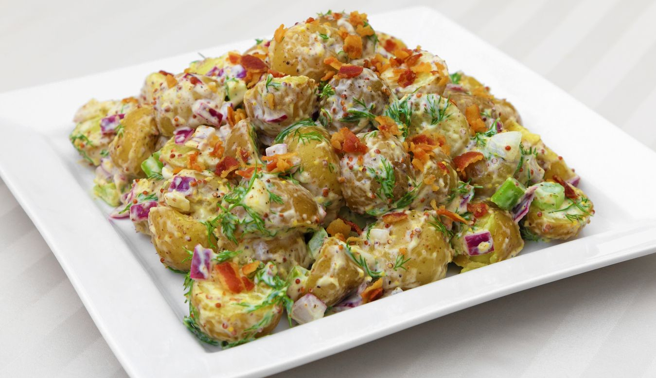 A cannabis oilinfused potato salad recipe