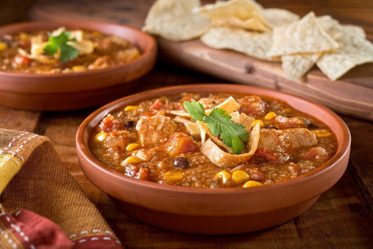 A mouthwatering chicken tortilla soup recipe