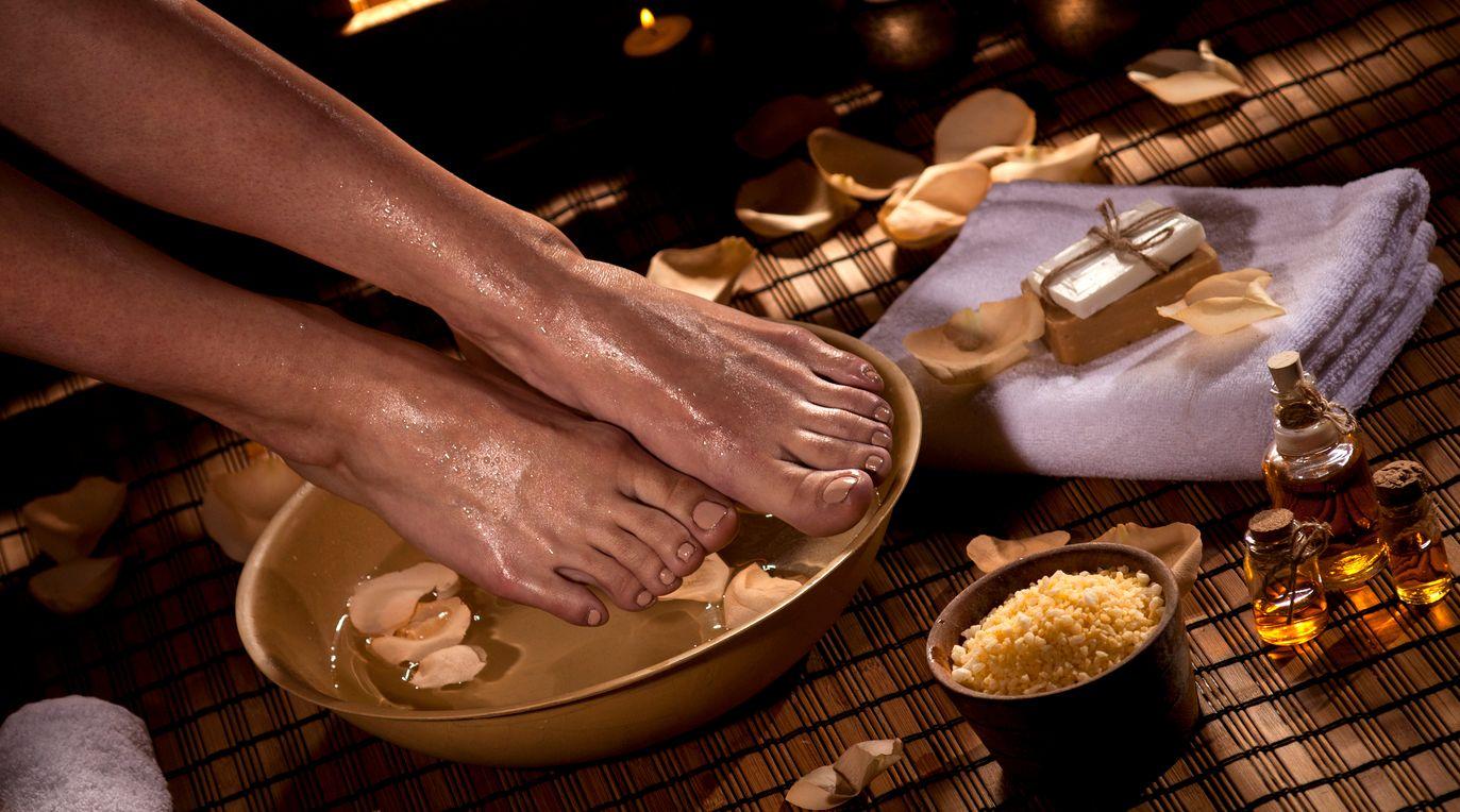 Nourishing CBD sugar scrub recipe that works wonders on calloused feet
