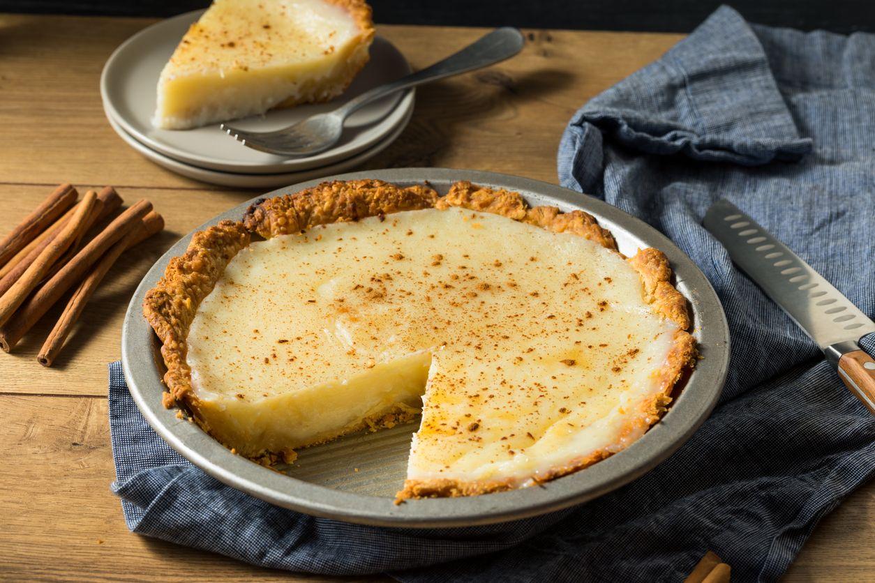 A sinfully delicious coconut custard pie recipe