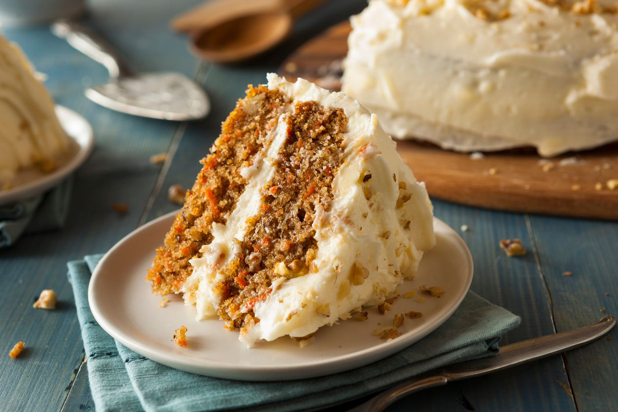 A sweet and moist carrot cake recipe with weed