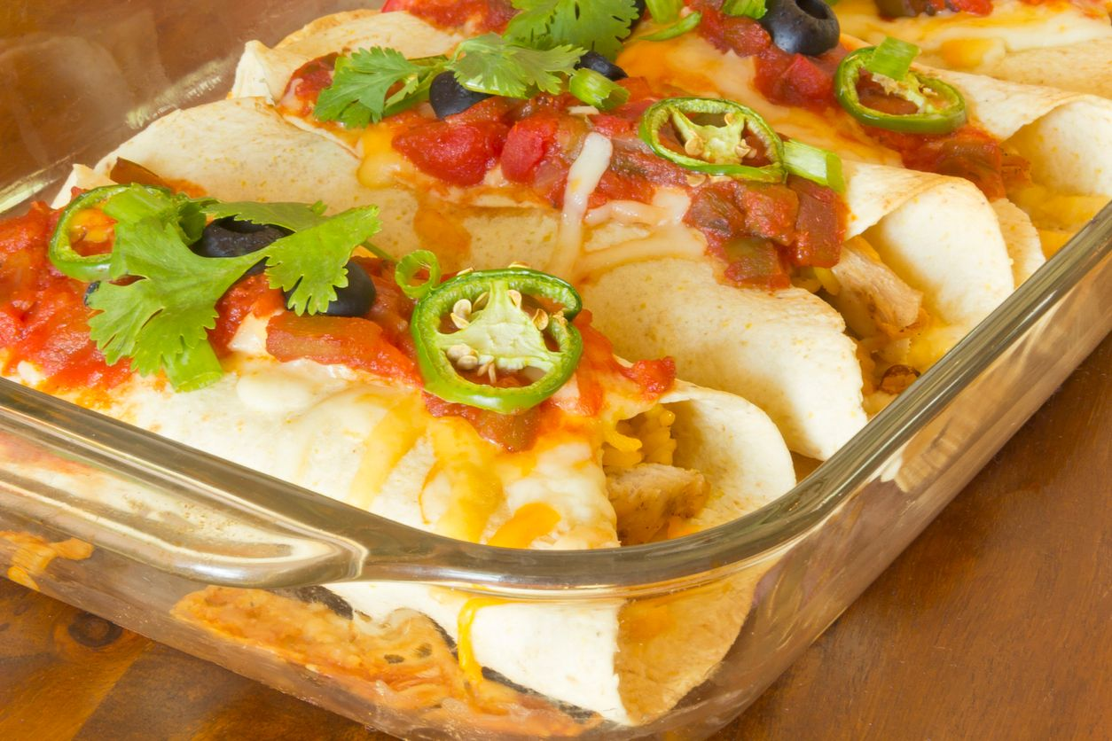 A taco casserole recipe that is easy to infuse with cannabis
