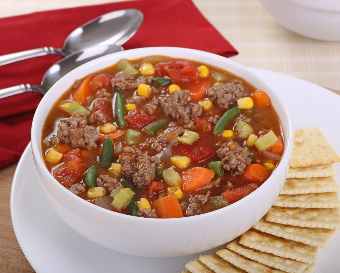 An easy hamburger soup recipe that will get you lifted