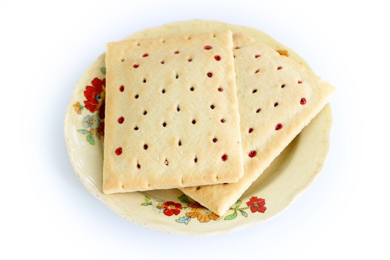 Homemade pop tarts with cannabutter