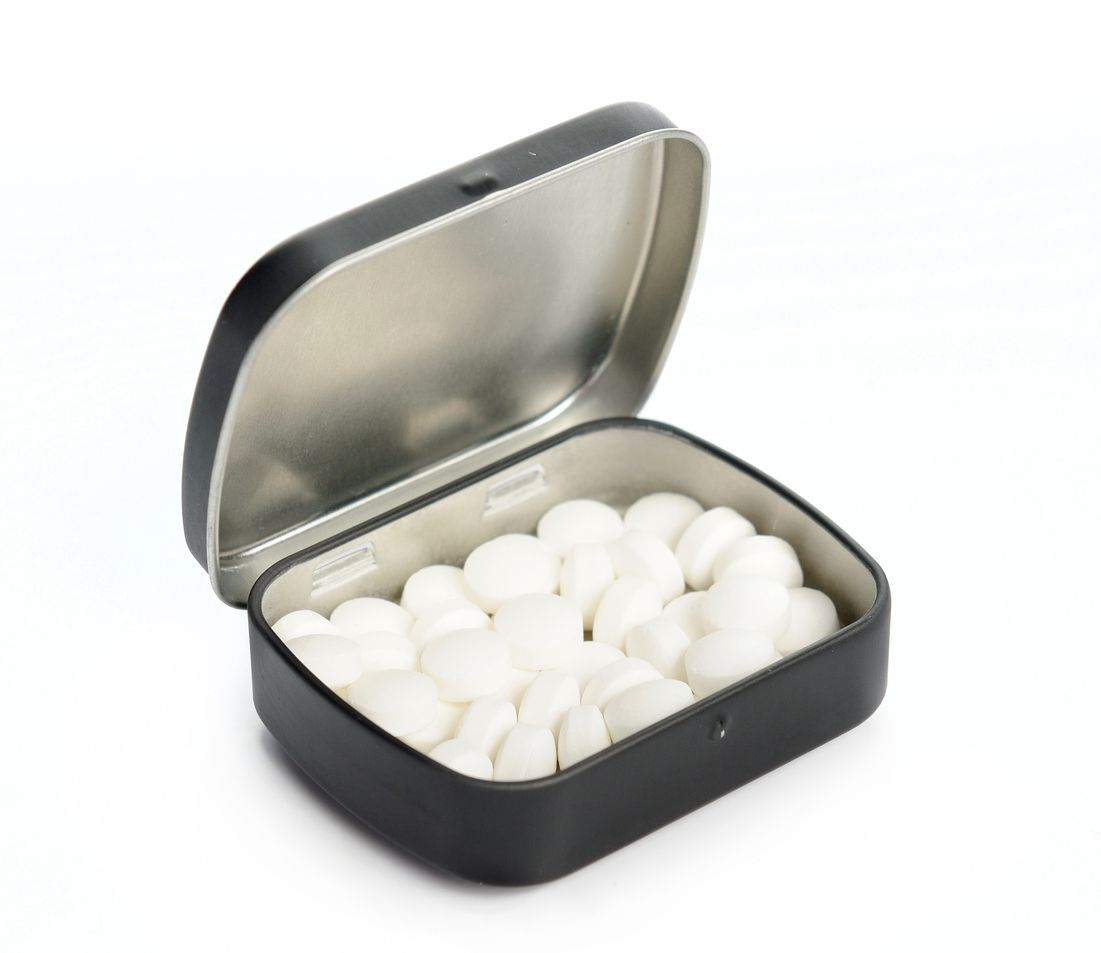 How to make breath mints with weed