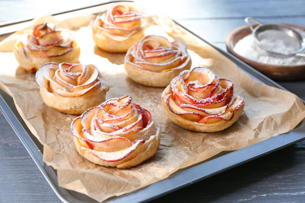 How to make cannabisinfused ovenbaked apple roses