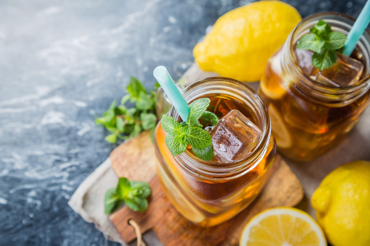 How to make iced tea with cannabis from scratch
