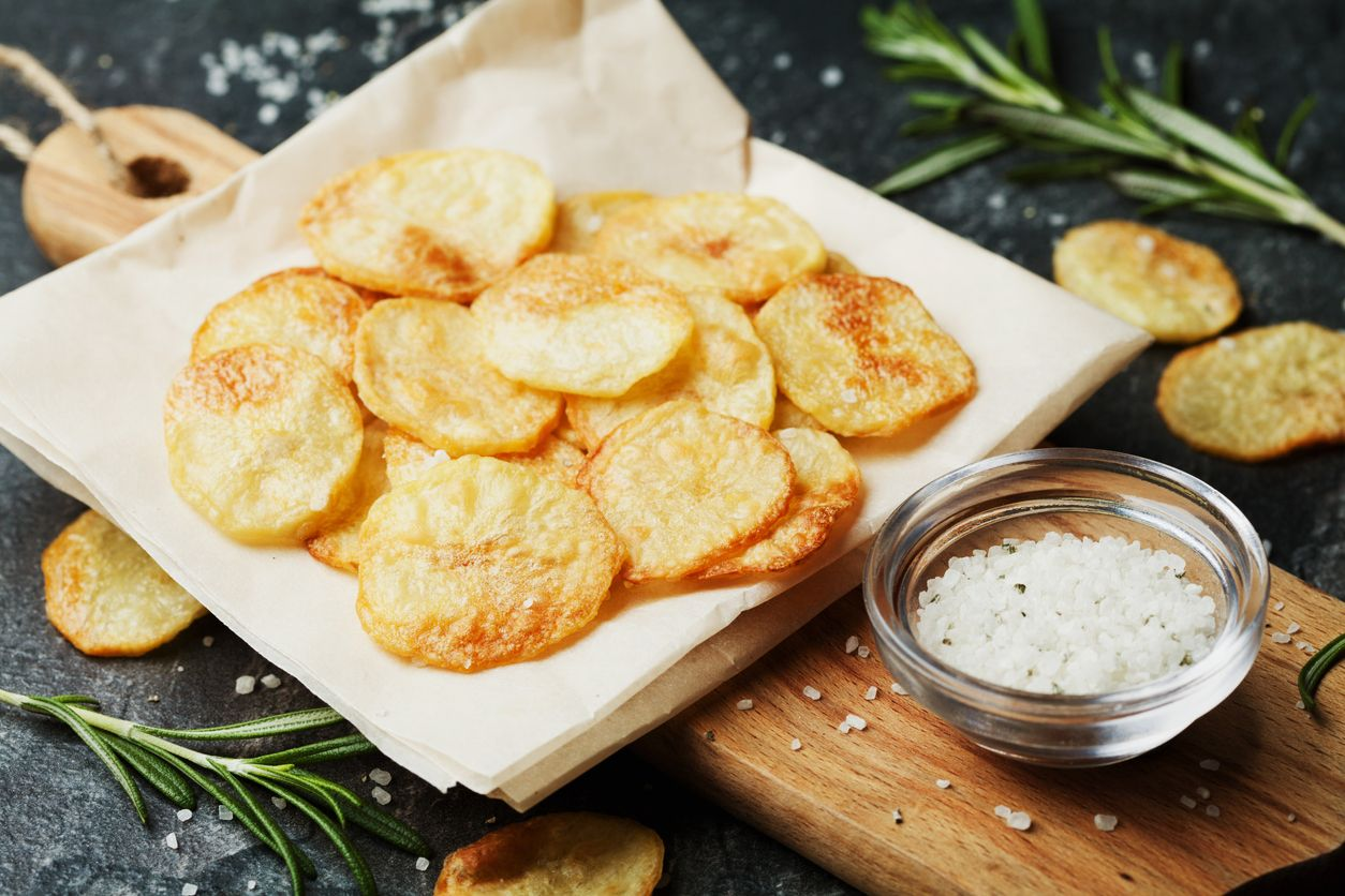How to make potato chips with weed