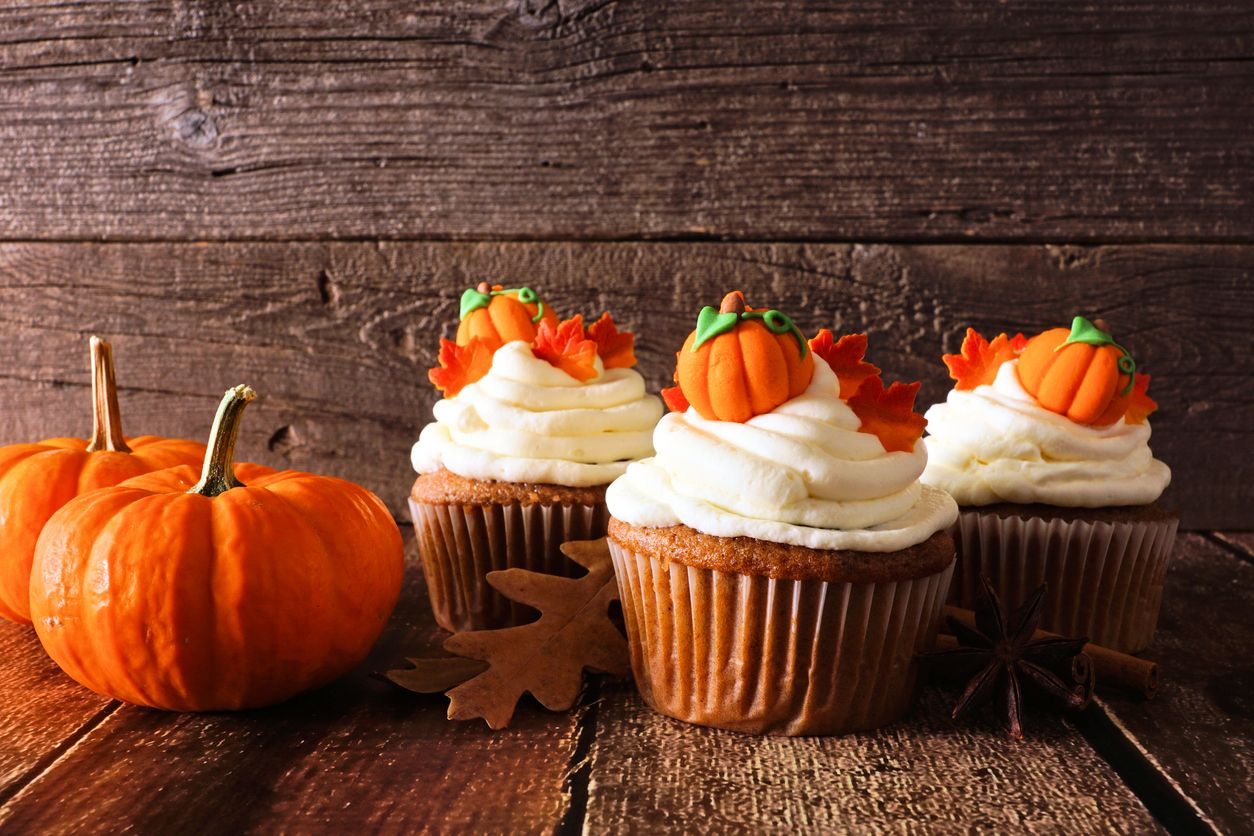 How to make pumpkin pie cupcakes with cannabis