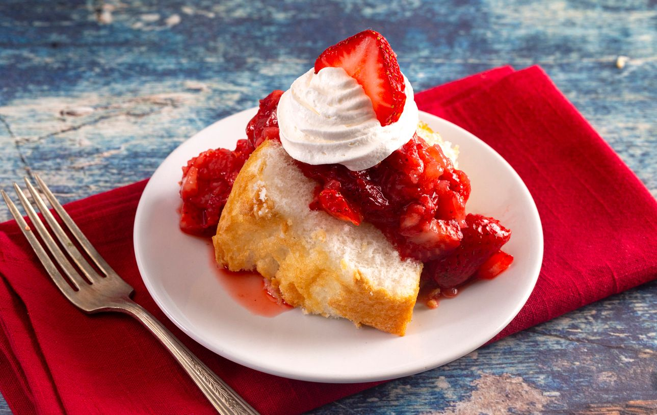 How to make strawberry shortcake in a skillet with cannabis