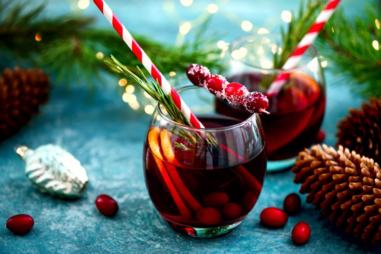 A THC infused Christmas punch recipe that is perfect for parties