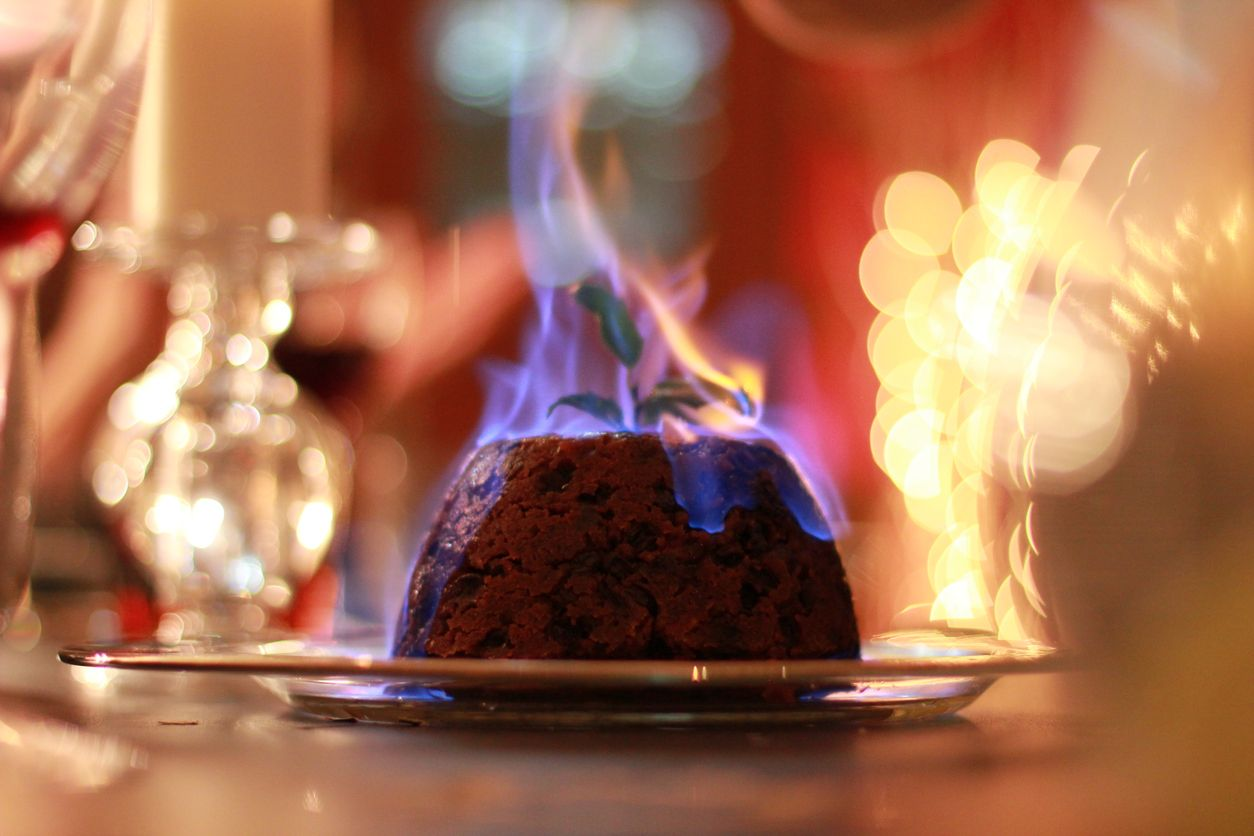 A sweet and intoxicating Christmas pudding dessert recipe