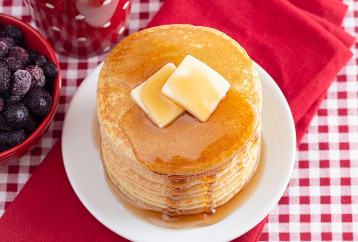 A readytofreeze weed pancake recipe for an easy breakfast wakenbake