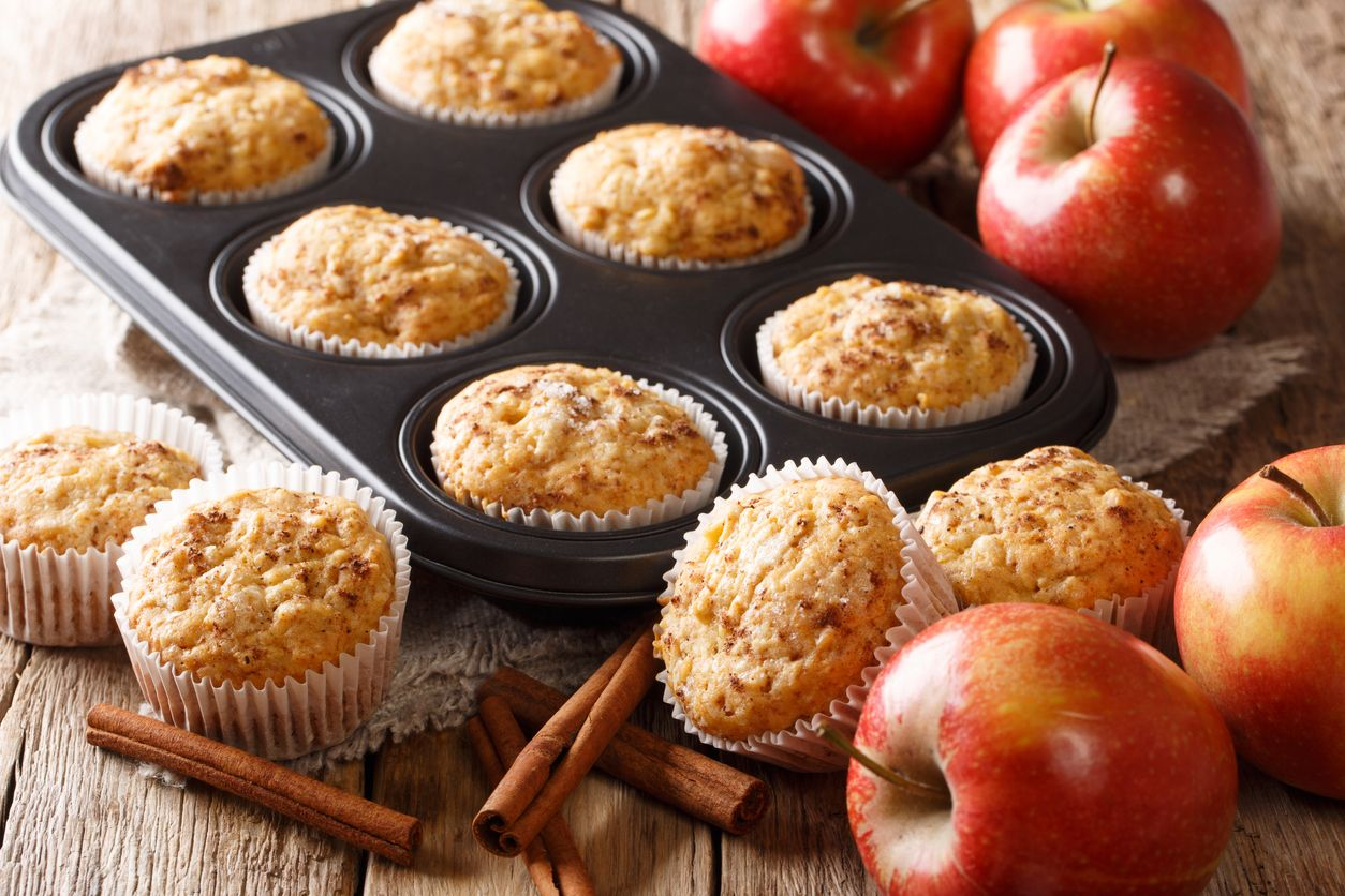 Easy cannabutter and applesauce muffins