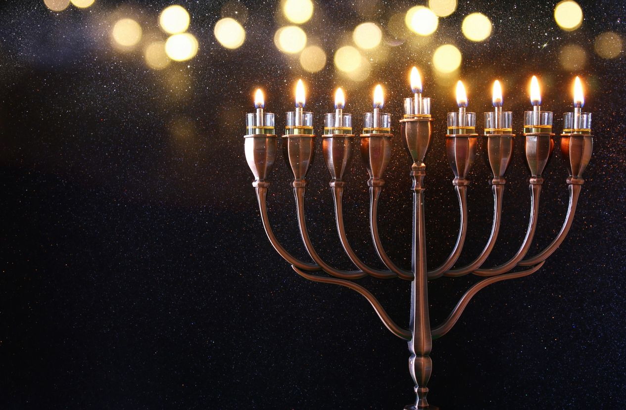 Celebrate Hanukkah in true stoner fashion with this candelabra joint