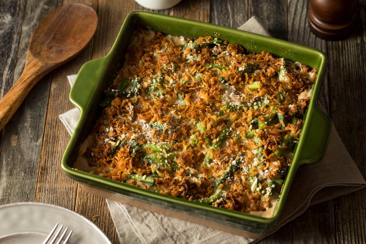 Cannabutter green bean casserole