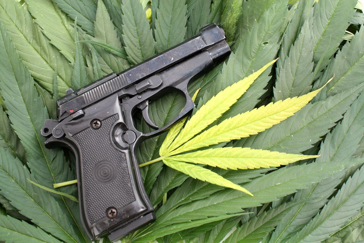 Illinois gun owners might be in trouble if they use legal weed