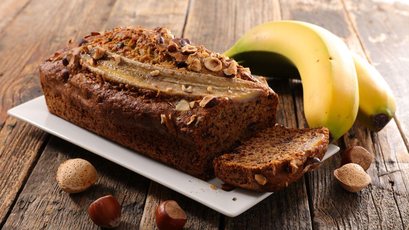 Cannabisinfused salted caramel banana bread recipe