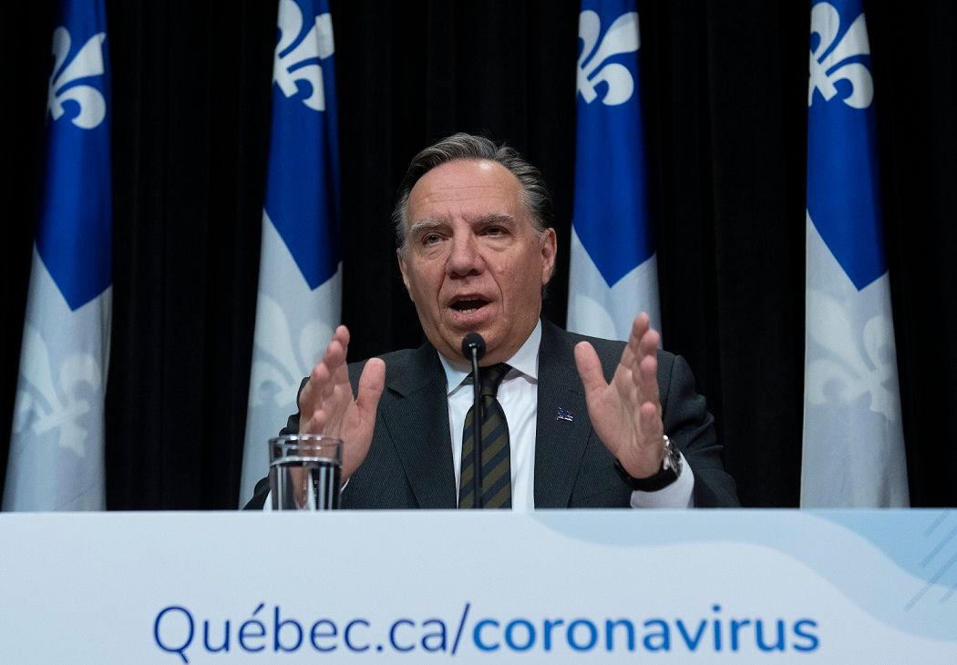 Quebec to close nonessential businesses until April 13 as COVID19 cases spike