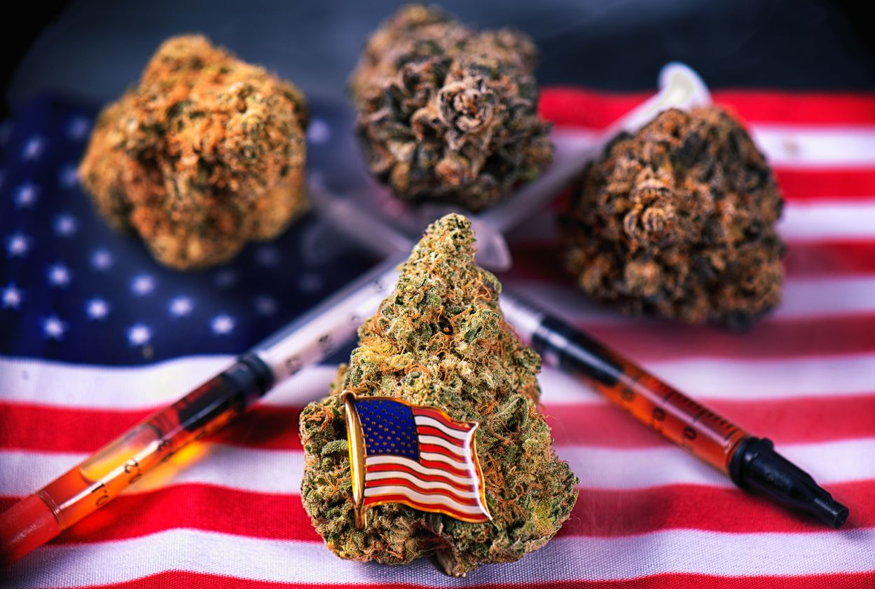 US states that are expected to legalize recreational weed in 2020