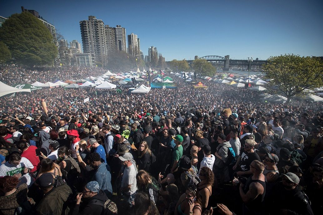 Vancouvers huge 420 pot celebration to be replaced by virtual event