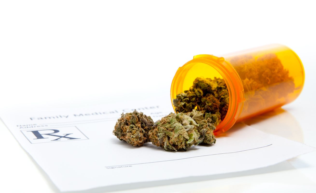 Who should be responsible for prescribing cannabis
