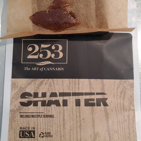feature image 253 Chaos Kush Shatter 1g