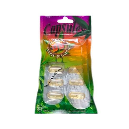 feature image 1:1 Capsules by Double Delicious - 100mg CBD / 100mg THC