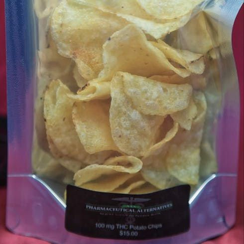 feature image 100mg THC Potato Chips