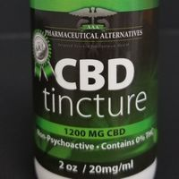 feature image 1200 mg CBD Tincture 2oz