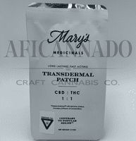 feature image Mary's 1:1 CBD:THC Transdermal Patch