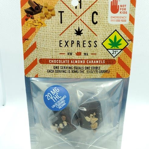 feature image *Chocolate Almond Caramel 2pk THCE