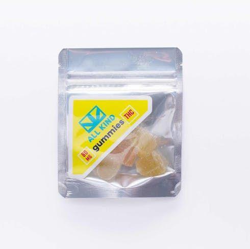feature image All Kind (Vegan) Gummies 60mg THC
