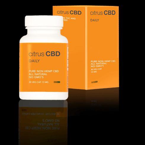 feature image Citrus CBD | Daily Capsule | 15 mg CBD
