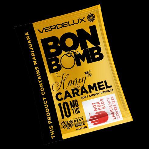 feature image  Bon Bomb HONEY 10mg Single