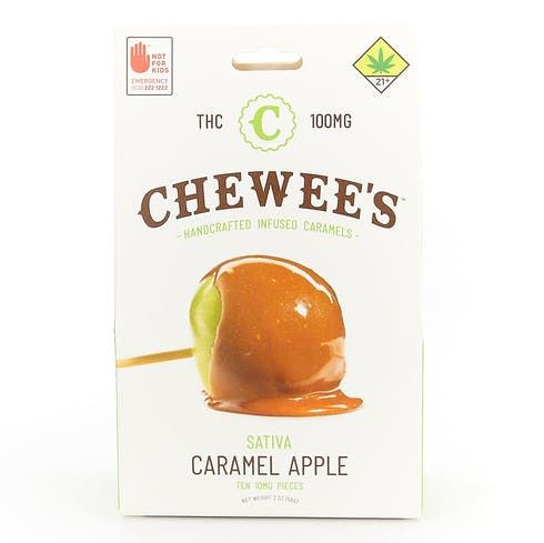 feature image  Chewees - Caramel Apple Sativa - 10 PK