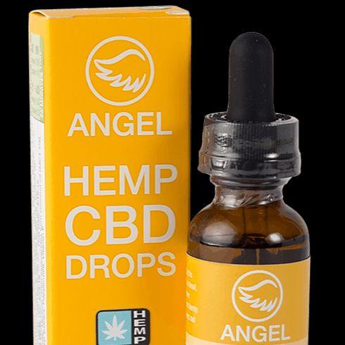 feature image 1,000 mg Angel Hemp CBD Drops (Lemon Ginger)