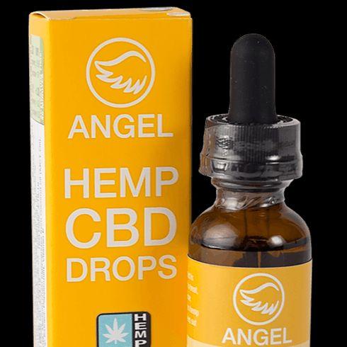 feature image 1,000mg Angel Hemp CBD Drops (Peppermint)