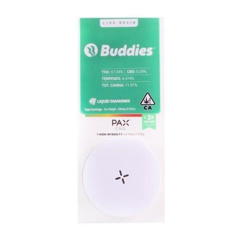 feature image Buddies - Live Resin PAX Pod - DoSiDo - .5g
