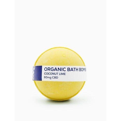 feature image CBD Living - Coconut Lime Bath Bomb - 60mgCBD
