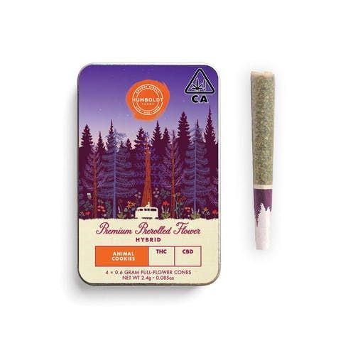 feature image Animal Cookies Prerolled 4-Pack