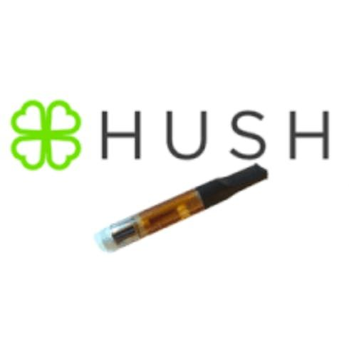 feature image  Hush flavored Cart- Clementine (hybrid) flavored cart.